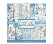 Stamperia Winter Tales 6x6 Inch Paper Pack (SBBXS04)