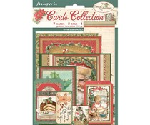 Stamperia Classic Christmas Cards (SBCARD07)