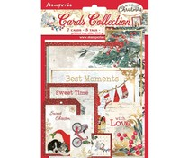 Stamperia Romantic Christmas Cards (SBCARD09)