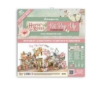 Stamperia Pop Up Kit 12x12 Inch House of Roses (SBPOP02)