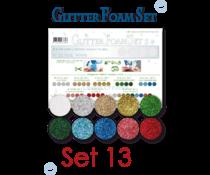 Leane Creatief Glitter Foam Set A4 Multi Colours (10pcs) (25.7682)