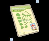 Leane Creatief Autumn Mushrooms Dies (45.7507)
