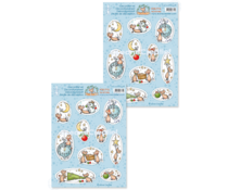 Leane Creatief The World of Mice: Joy of Christmas A4 Decoration Sheets (10pcs) (50.7712)