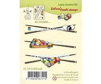 Leane Creatief Billiards Clear Stamps (55.7415)