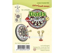 Leane Creatief Darts Clear Stamps (55.7422)
