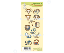 Leane Creatief Zodiac Signs Clear Stamps (55.7453)
