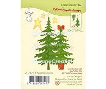 Leane Creatief Christmas Tree Clear Stamps (55.7477)