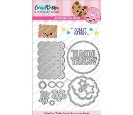 CarlijnDesign Snijmallen Cookie Crunch (CDJD-0018)