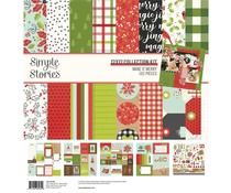 Simple Stories Make it Merry 12x12 Inch Collection Kit (15700)