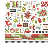 Simple Stories Make it Merry 12x12 Inch Cardstock Stickers (15701)