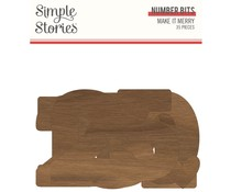 Simple Stories Make it Merry Number Bits (15718)