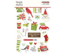 Simple Stories Make it Merry Sticker Book (15719)