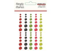Simple Stories Make it Merry Enamel Dots (15724)
