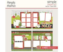 Simple Stories Simple Pages Page Kit 12x12 Inch Good Cheer (15730)