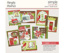 Simple Stories Simple Cards Card Kit 12x12 Inch Holiday Hellos (15731)