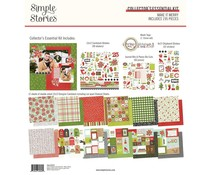 Simple Stories Make it Merry 12x12 Inch Collector's Essential Kit (15732)