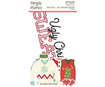 Simple Stories Simple Pages Page Pieces Ugly Christmas Sweater (15950)