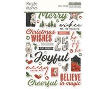Simple Stories Simple Vintage Rustic Christmas Sticker Book (16023)
