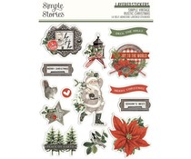 Simple Stories Simple Vintage Rustic Christmas Layered Stickers (16026)