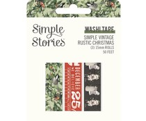Simple Stories Simple Vintage Rustic Christmas Washi Tape (16029)
