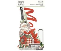 Simple Stories Simple Pages Page Pieces Merry Christmas (16033)