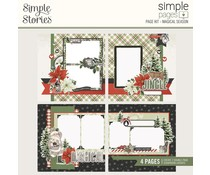 Simple Stories Simple Pages Page Kit 12x12 Inch Magical Season (16034)