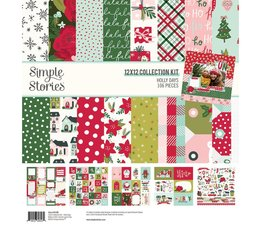 Simple Stories Holly Days 12x12 Inch Collection Kit (16100)