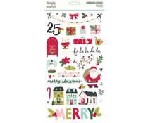 Simple Stories Holly Days 6x12 Inch Chipboard (16115)