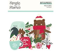Simple Stories Holly Days Bits & Pieces (16116)