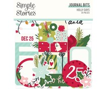 Simple Stories Holly Days Journal Bits (16117)
