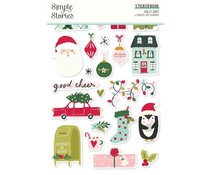Simple Stories Holly Days Sticker Book (16118)