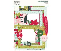 Simple Stories Holly Days Chipboard Frames (16119)