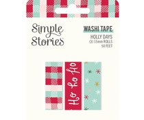 Simple Stories Holly Days Washi Tape (16124)