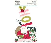Simple Stories Simple Pages Page Pieces Holly Jolly (16127)