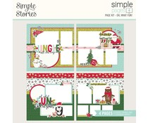 Simple Stories Simple Pages Page Kit 12x12 Inch Oh, What Fun! (16128?)