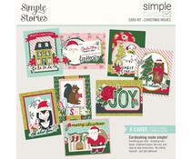 Simple Stories Simple Cards Card Kit 12x12 Inch Christmas Wishes (16129)
