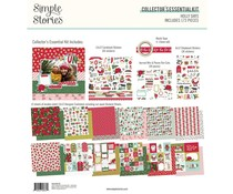 Simple Stories Holly Days 12x12 Inch Collector's Essential Kit (16130)
