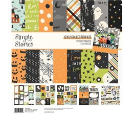 Simple Stories Spooky Nights 12x12 Inch Collection Kit (16400)