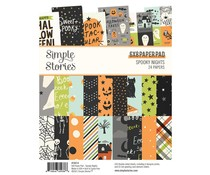 Simple Stories Spooky Nights 6x8 Inch Paper Pad (16414)