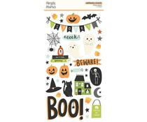 Simple Stories Spooky Nights 6x12 Inch Chipboard (16415)