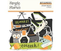Simple Stories Spooky Nights Bits & Pieces (16416)