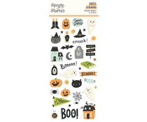 Simple Stories Spooky Nights Puffy Stickers (16419)