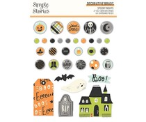 Simple Stories Spooky Nights Decorative Brads (16420)