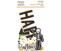 Simple Stories Simple Pages Page Pieces Happy Halloween (16425)