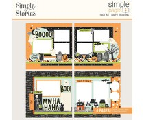 Simple Stories Simple Pages Page Kit 12x12 Inch Happy Haunting (16426)