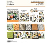 Simple Stories Spooky Nights 12x12 Inch Collector's Essential Kit (16427)
