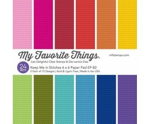 My Favorite Things Keep Me in Stitches 6x6 Inch Paper Pad (EP-82)