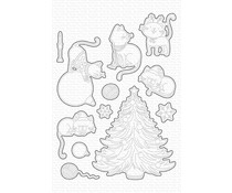 My Favorite Things Meowy Christmas Die-namics (MFT-2081)