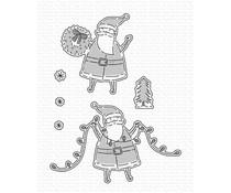 My Favorite Things Santa Sends His Love Die-namics (MFT-2097)