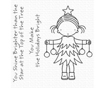 My Favorite Things Bright Holidays Clear Stamp (PI-326)